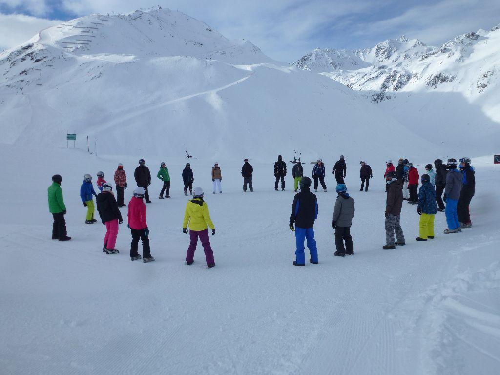 Infoveranstaltung Skiexkursion 2017
