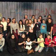 Theaterklasse 5b zu Besuch im Theater Überzwerg