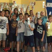 Neue Schüler der GGS Neunkirchen lernen sich kennen