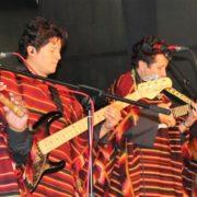 Bolivianische Musikgruppe Los Masis zu Besuch